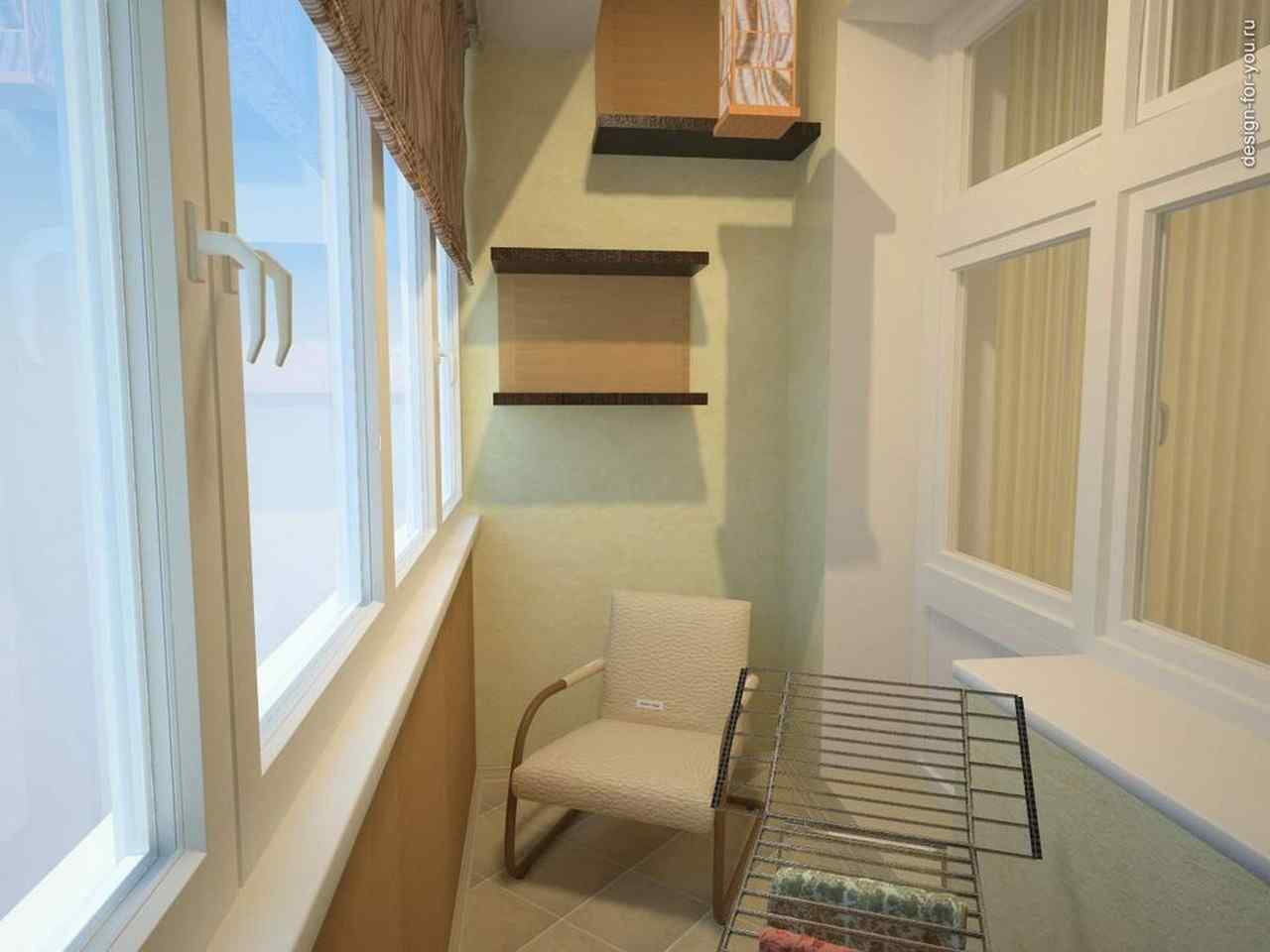 Интерьеры маленьких балконов в хрущевках своими руками..