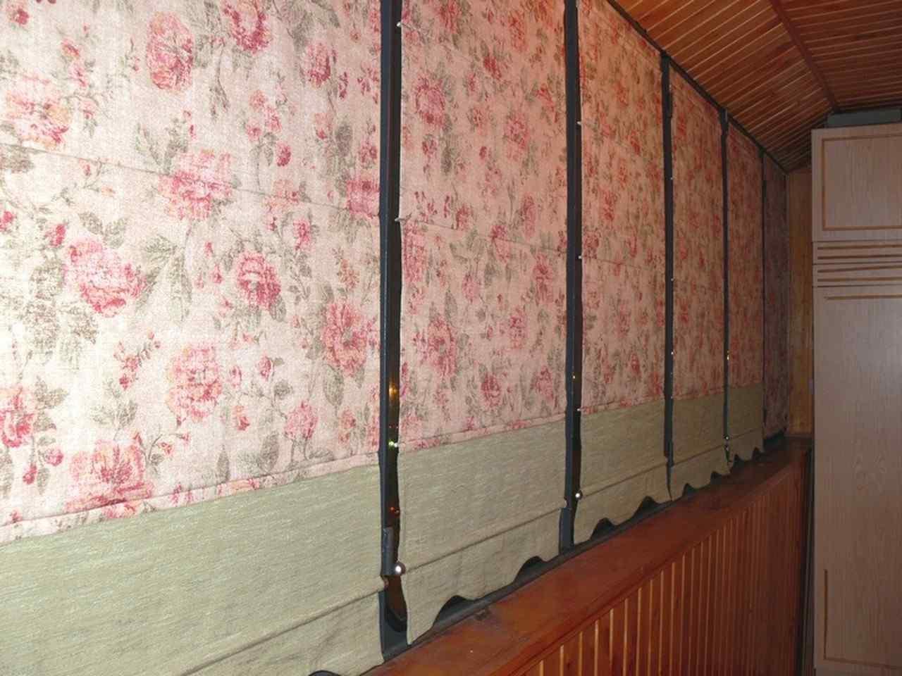 Как сшить стильные шторы для лоджии Ярмарка Мастеров 19