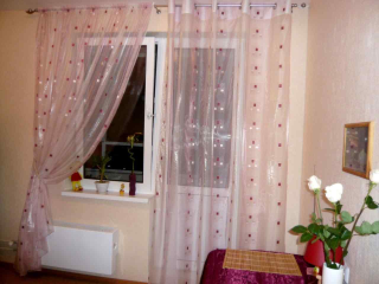 Как сшить шторы на кухню с балконной дверью своими руками выкройки фото