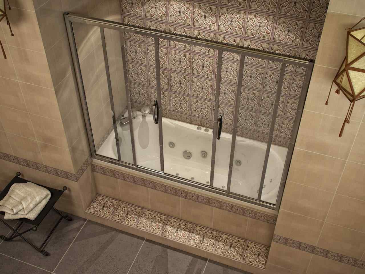 Стеклянная шторка для ванной своими руками 407