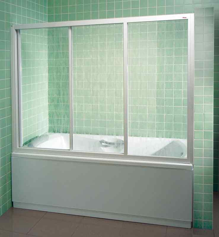 Стеклянный экран для ванной своими руками 10