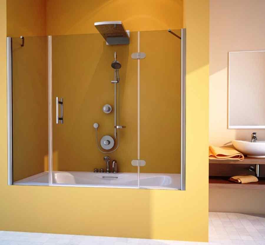 Душевая шторка для ванной своими руками