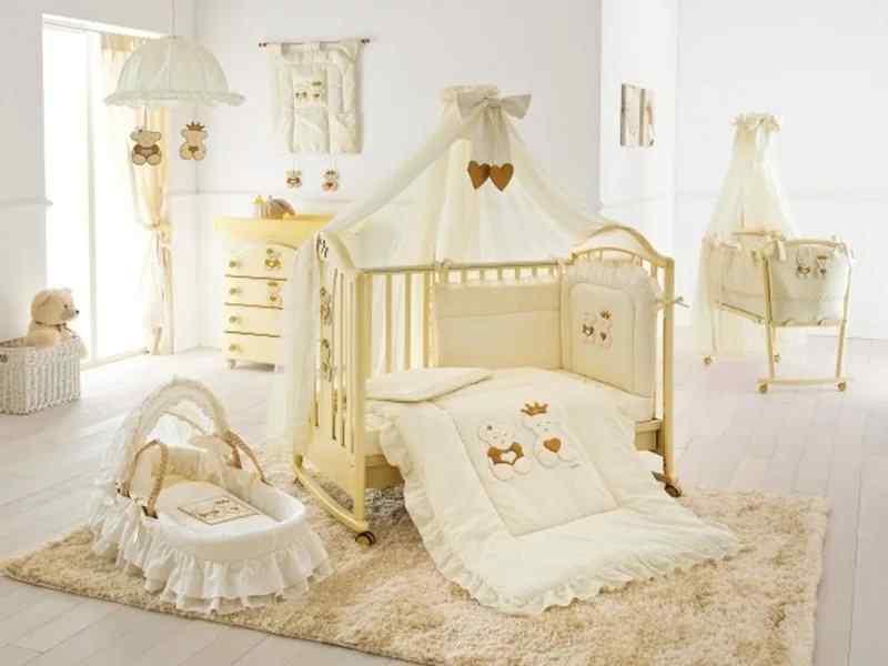 Фото украшений на детскую кроватку 90