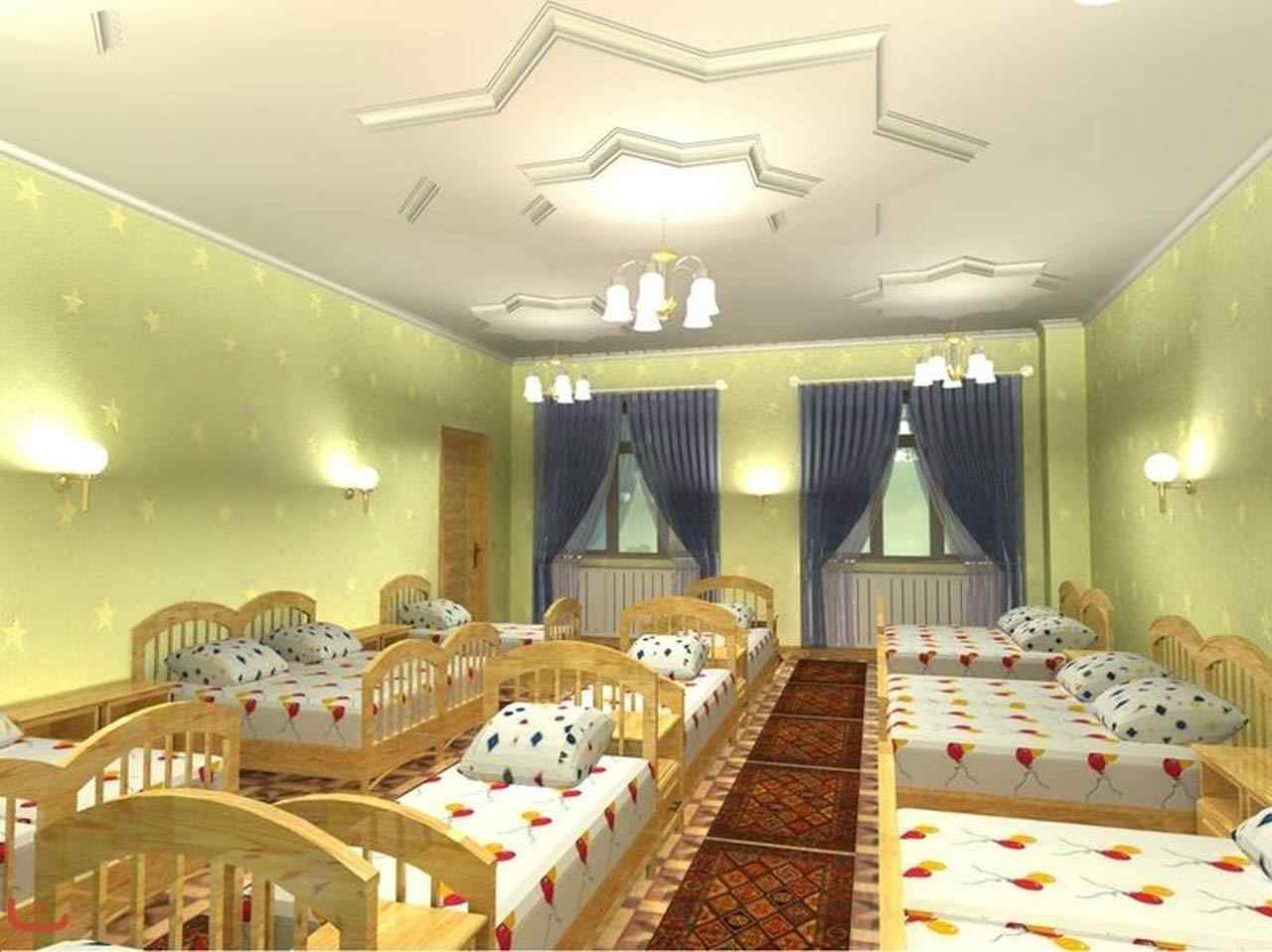 Спальня в детском саду дизайн