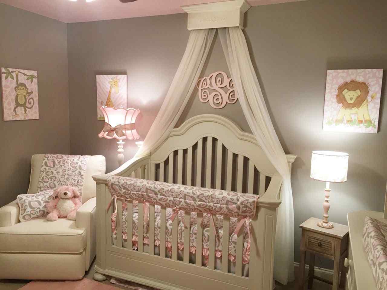 детские кроватки с балдахином. фото